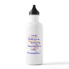 SERVICE DOG FREEDOM Water Bottle