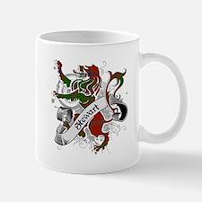 Stewart Tartan Lion Mug