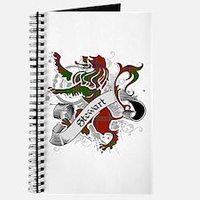 Stewart Tartan Lion Journal