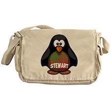 Stewart Tartan Penguin Messenger Bag