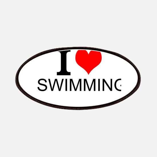 I Love Swimming Patches