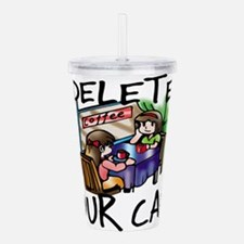 Deleted Cafe Acrylic Double-wall Tumbler