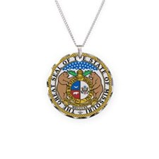 Cute State seal Necklace