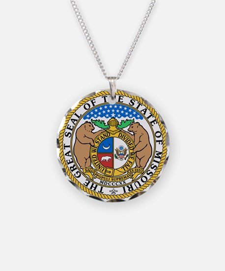 Cute Missouri state seal Necklace