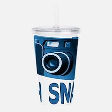 Oh Snap Camera Acrylic Double-wall Tumbler