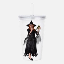 Witch Frog Acrylic Double-wall Tumbler