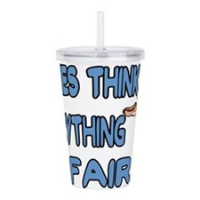 Carnies Think Acrylic Double-wall Tumbler