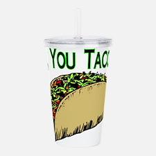 Taco Lot Acrylic Double-wall Tumbler