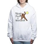 Moon A Werewolf Women's Hooded Sweatshirt