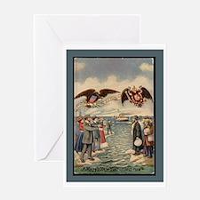 Vintage American Jewish New Year Greeting Cards
