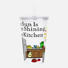 Sunny Kitchen Acrylic Double-wall Tumbler