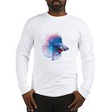 Betta fish Long Sleeve T Shirts