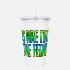 Scars Are Tattoos Acrylic Double-wall Tumbler