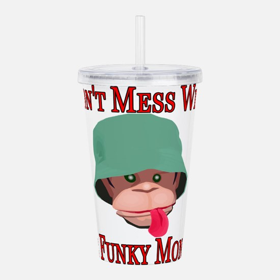 Funky Monkey Acrylic Double-wall Tumbler