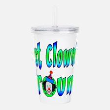 Clownin Around Acrylic Double-wall Tumbler