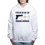 Serious Fragging Women's Hooded Sweatshirt