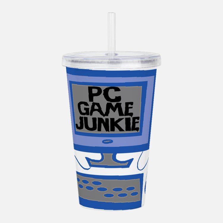 Game Junkie Acrylic Double-wall Tumbler