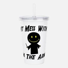 I'm The Admin Acrylic Double-wall Tumbler