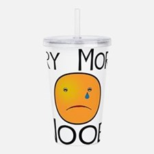Cry Noob.png Acrylic Double-wall Tumbler