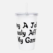GameOver.png Acrylic Double-wall Tumbler