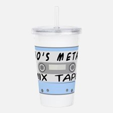 80's Mix Tape Acrylic Double-wall Tumbler