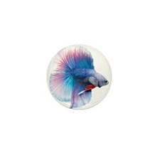 Double Tail Betta Mini Button (10 pack)