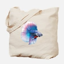 Double Tail Betta Tote Bag