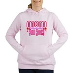 Mom You Rock Women's Hooded Sweatshirt