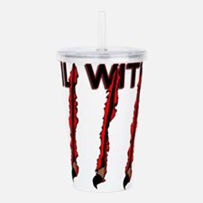 Evil Within Acrylic Double-wall Tumbler
