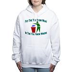 You Know Where Women's Hooded Sweatshirt
