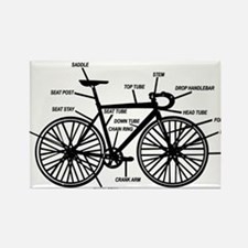Cute Bikes Rectangle Magnet