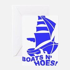 Funny Boats Greeting Card