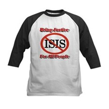 No ISIS Bring Justice For All People Baseball Jers