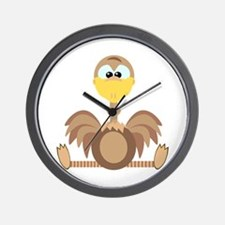 Goofkins Silly Ostrich Wall Clock