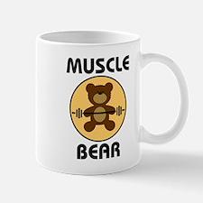 Teddy Bear Muscle Bear B Mugs