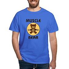 Teddy Bear Muscle Bear B T-Shirt