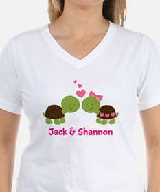 Turtle Couple Personalized T-Shirt
