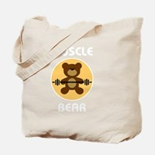 Unique Muscle bear Tote Bag