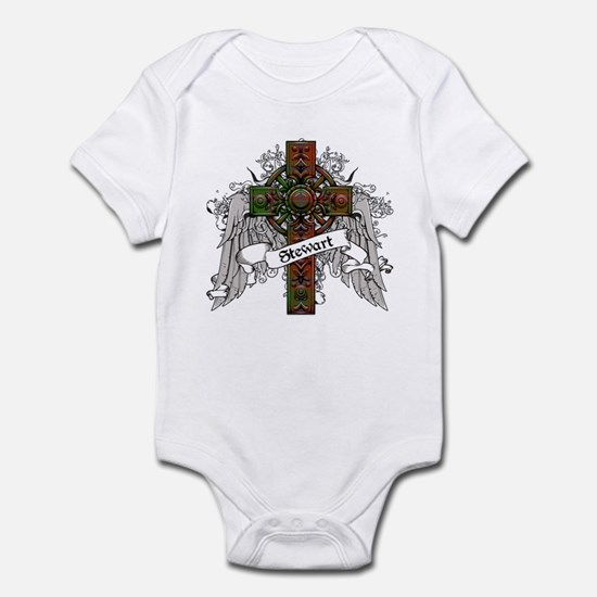 Stewart Tartan Cross Infant Bodysuit