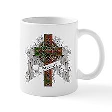 Stewart Tartan Cross Mug