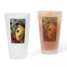 Crazy Horses Drinking Glass