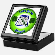 Unique Bingo daubers Keepsake Box