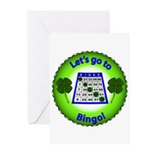 Let's Go to Bingo Greeting Cards