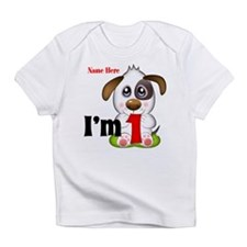 1st Birthday Puppy Infant T-Shirt