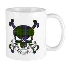 Smith Tartan Skull Small Mug