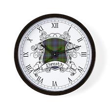 Smith Tartan Shield Wall Clock