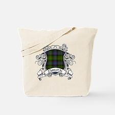 Smith Tartan Shield Tote Bag