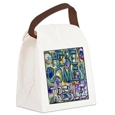 music quote Canvas Lunch Bag