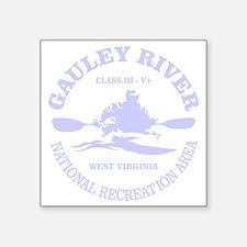 "Gauley River (kayak) Square Sticker 3"" x 3"""