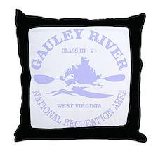 Gauley River (kayak) Throw Pillow